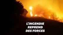 Les incendies en Corse redoublent à cause de Ciara