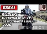 SUZUKI V-STROM 1050 XT - ESSAI MOTO MAGAZINE
