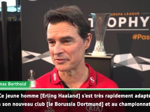 "Bundesliga - Berthold : ""Haaland a l'instinct du but"""