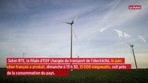 Grâce à Ciara, les éoliennes battent (presque) un record