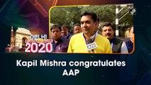 Delhi election results: Kapil Mishra congratulates AAP