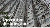 Coronavirus à Hong Kong : un immeuble de 3 000 personnes entièrement désinfecté