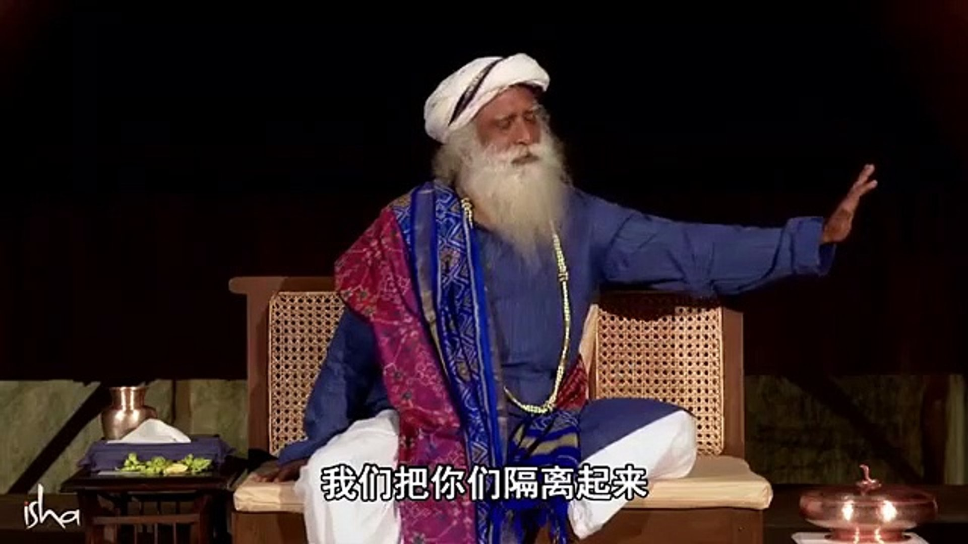 Sadhguru ¦ About Corona Virus ¦ Chinese Virus Song ¦ With Chinese Subtitles ¦