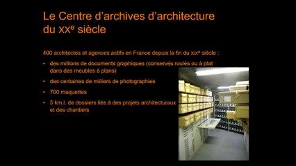 Anticiper les risques d'un chantier,  travaux en site occupé au Centre d'archives d'architecture du XXe siècle