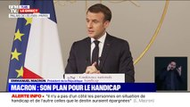 Emmanuel Macron prévoit un total de 66.000 accompagnants d'élèves en situation de handicap d'ici la fin de l'année
