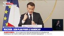 Emmanuel Macron souhaite un numéro unique dédié à l'accompagnement des handicapés pour le 1er janvier prochain
