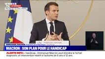 """Emmanuel Macron: """"Nous ne sommes pas au rendez-vous de l'inclusivité"""""""