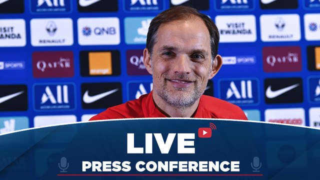 Replay : Conférence de presse de Thomas Tuchel avant Dijon FCO - Paris Saint-Germain 2019-2020