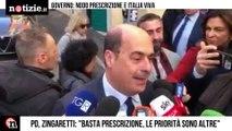 """Prescrizione, Zingaretti """"Renzi favorisce Salvini""""   Notizie.it"""