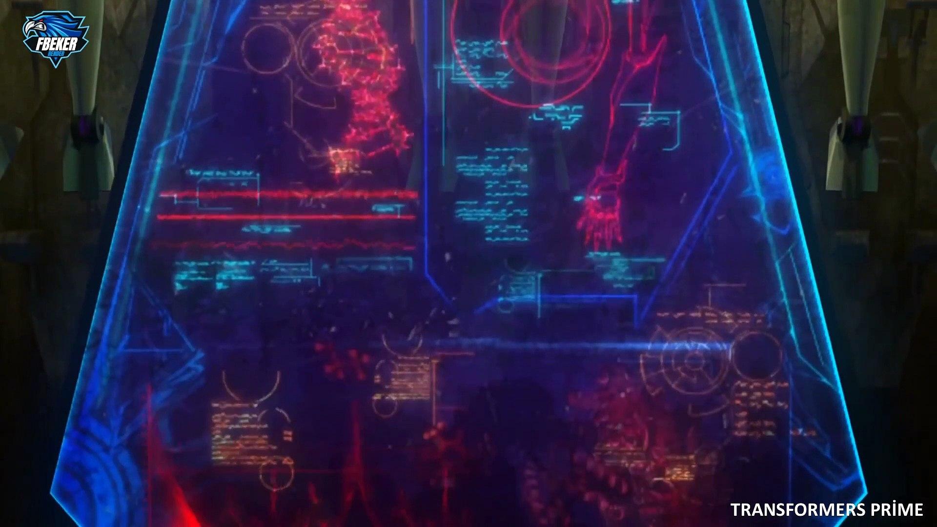 Transformers Prime 36.Bölüm Donanma Full Hd
