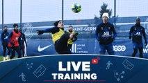 Replay : Les 15 premières minutes d'entraînement avant Dijon FCO - Paris Saint-Germain 2019-2020
