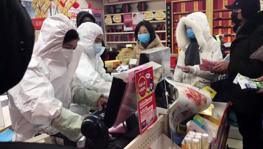 Coronavirus: Bedrückender Alltag im abgeriegelten Wuhan
