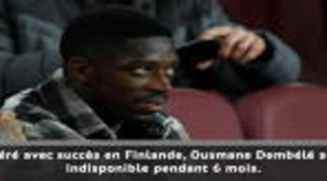 Bleus - Dembélé manquera l'Euro !