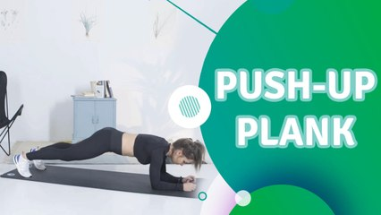 Push-up plank - Ik Ben Fit