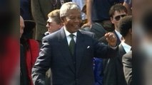 S. Africa commemorates Mandela's first steps of freedom
