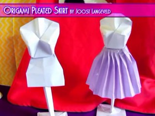 Origami Doll Mannequin - Make a paper Dress Form
