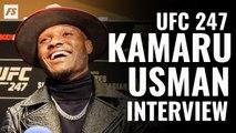 UFC 247: Kamaru Usman guest fighter interview