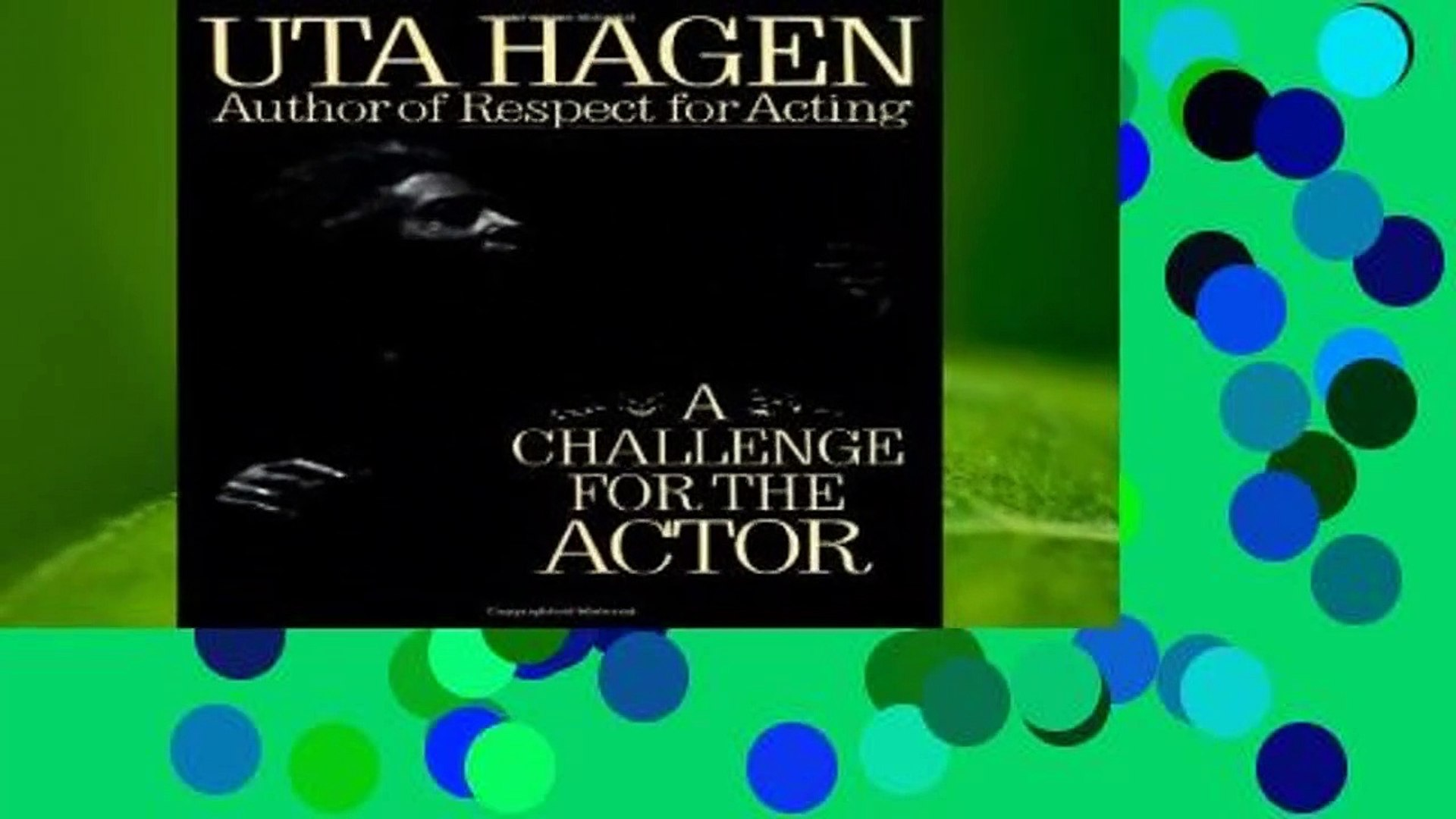 Challenge For The Actor