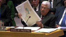 Abbas: U.S. plan offers Palestinians 'Swiss cheese' state