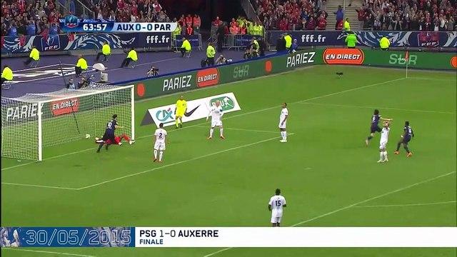 Cavani, le spécialiste de la Coupe : ses 16 buts en vidéo