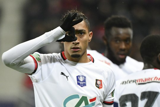 Face à Belfort, Raphinha confirme qu'il est en forme - Foot - Coupe - Rennes