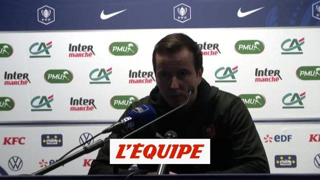 J. Stéphan «L'objectif est rempli» - Foot - Coupe - Rennes