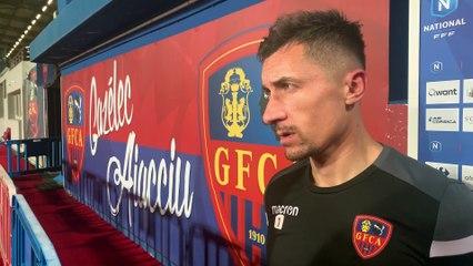 Gazélec Ajaccio / Concarneau : les réactions du coach F. Ciccolini & d'A. Balijon