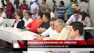 Presentan programa de créditos a productores agropecuarios de San Pedro Sula