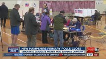 New Hampshire primary polls close