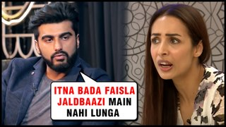 Arjun Kapoor NOT Ready To Marry Malaika Arora | Reveals SHOCKING Details