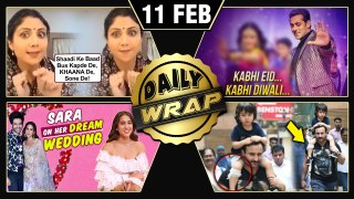 Sara Ali Khan WEDDING Plans, Taimur Gets INJURED, Kabhi Eid Kabhi Diwali   Top 10 News