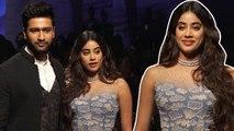 Janhvi Kapoor And Vicky Kaushal Walk The Ramp | Lakme Fashion Week