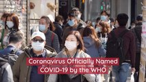The Coronavirus Has A Name