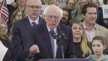 """Pour Bernie Sanders, sa victoire dans le New Hampshire est """"le début de la fin pour Donald Trump"""""""