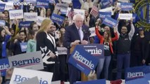 Bernie Sanders (78) gewinnt knapp in New Hampshire