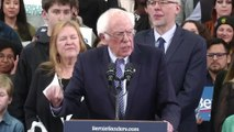 Sanders narrowly beats Buttigieg in New Hampshire