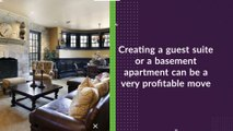 Basement Renovations Offer Extra Income for Homeowners - Basement Renovations Now