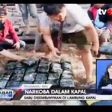 Penyelundupan 35 Kg Sabu dalam Kapal Digagalkan Polda Riau