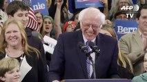 Primaires démocrates: Sanders remporte le New Hampshire, devant Buttigieg et Klobuchar
