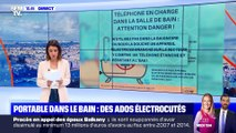 Portable dans le bain : des ados électrocutés (2) - 12/02