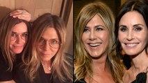 Courteney Cox's Hilarious Impression of Jennifer Aniston on her 51st Birthday