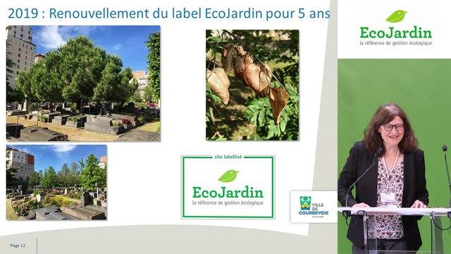 15 - Sylvie Guettier et Romain Ente, Ville de Courbevoie et Entreprise Marcel Villette - Rencontre EcoJardin 2020