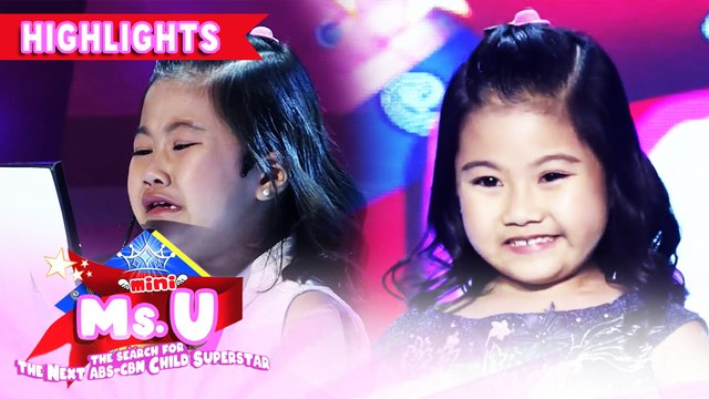 Elizze Regates wins as Mini Miss U of the day | It's Showtime Mini Miss U