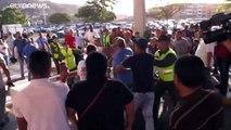 Au Venezuela, l'opposant Juan Guaido de retour sous les vivats et les huées