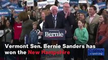 Bernie Sanders Narrowly Wins Over Pete Buttigieg In New Hampshire Democratic Primary