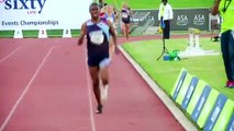 The Nigerien star athlete at the center of a hormone debate