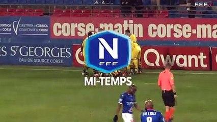 J17 - le résumé vidéo de la victoire du Gazélec Ajaccio face à Concarneau (2-0)