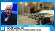 La France bouge : Jean-Jacques Bonnet, PDG de Imprimerie Centre Étiquettes qui développe l'appli  ICE 2.0, permet au consommateur de connaître l'histoire de sa bouteille de vin et d'en vérifier l'authenticité