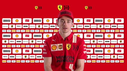 F1 Ferrari SF1000 - Entretien avec Charles Leclerc