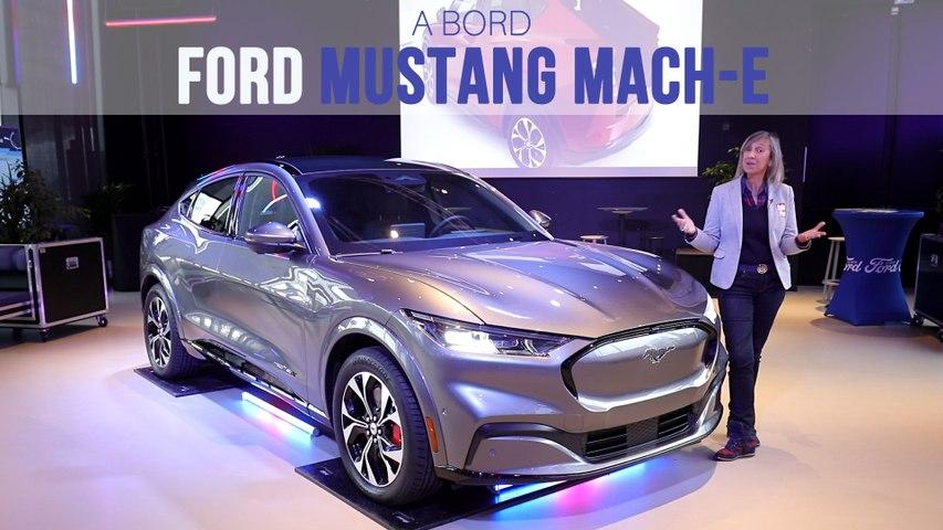 A bord du Ford Mustang Mach-E (2020)